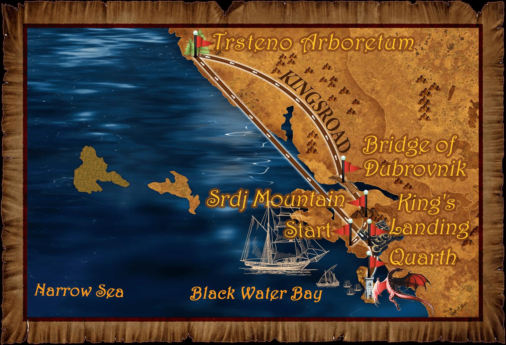 1st map